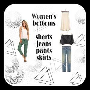 All types of ladies bottom wear